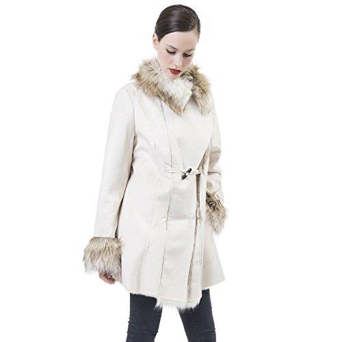 Faux Fur Classic Coat - 7