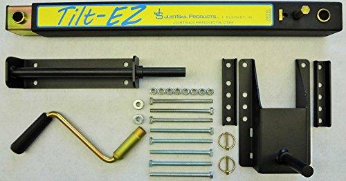 TiltEZ JSP100-TLZ Tilting System For Single Pole Tongue Snowmobile And ATV Trailers by TiltEZ