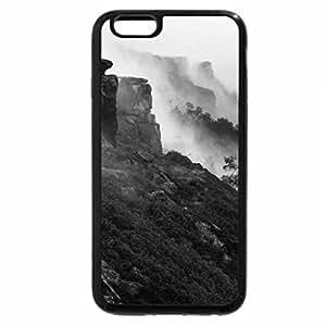 iPhone 6S Plus Case, iPhone 6 Plus Case (Black & White) - Mountain