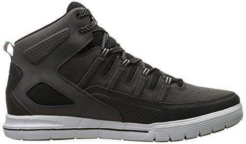 Mens Skechers Skechers II Black Arcade Arcade Sport Sneaker Top Mid Sport Mens wBBtqX