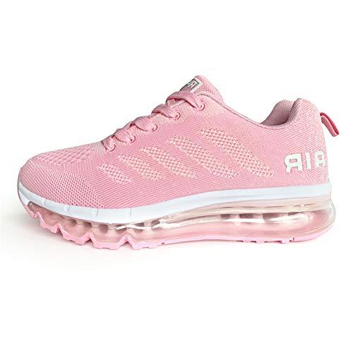 Sumateng Zapatillas de Deportes Hombre Mujer Zapatos Deportivos Aire Libre para Correr Calzado Sneakers Gimnasio Casual…