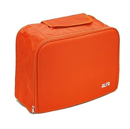 Alfa 6040 - Funda de Tela para máquina de Coser, Color Naranja
