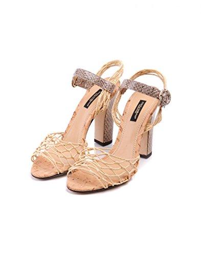 Dolce & Gabbana Sandales Pour Femme Beige Beige No