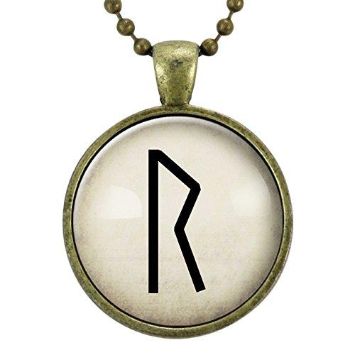 Amazon Com Raido Rune Necklace Viking Jewelry Travel Rune
