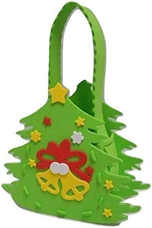 クリスマスバッグ工作キット クリスマスツリー【10個売り】工作キット/イベント/手作り/工作