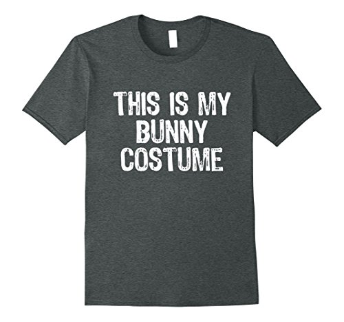 Mens This Is My Bunny Costume Halloween T-Shirt Medium Dark (Diy Halloween Bunny Costume)