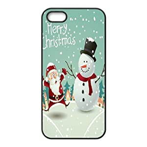 DIY Phone Case for Iphone 5,5S, Snowman Cover Case - HL-497051