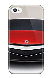 Premium Durable Acura Future Car Models Fashion Tpu Iphone 4/4s Protective Case Cover
