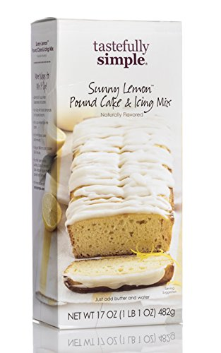 Tastefully Simple Sunny Lemon Pound Cake & Icing Mix by Tastefully Simple