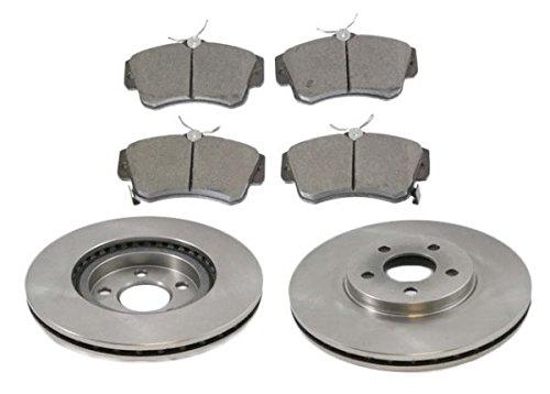- Disc Brake Pad & Rotor Kit Ceramic Front for 01-09 Chrysler PT Cruiser