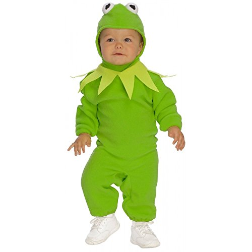 Rubies Kermit the Frog Child Romper Halloween Costume - Toddler | (The Muppets Kermit Toddler Costumes)