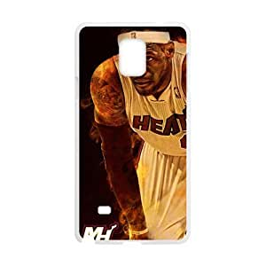 lebron james miami heat Phone Case for Samsung Galaxy Note4 Case