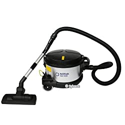 NILFISK GD390 Canister HEPA 4 Gallon Dry Vacuum w/tools