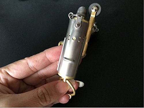 Youfeel Trench Lighter Replica Solid Brass WWI WWII Cigar Lighter Vintage Style