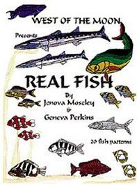 Stained Glass Fish Patterns - REAL FISH Stained Glass Pattern Book