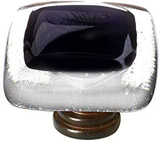 product image for Sietto K-700-ORB Reflective 1-1/4 Inch Square Cabinet Knob