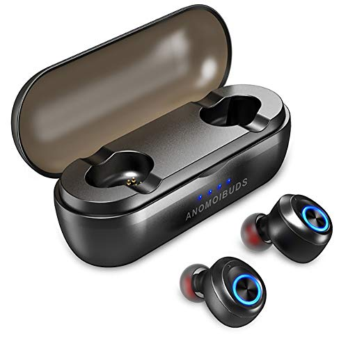 (Capsule Pro 50 Hour Playtime Support AAC TWS Earbuds V5.0 Bluetooth Earphone Deep Bass Hi-Fi Stereo Sound Earphone)