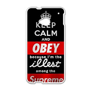 Keep Calm and Obey Cell Phone Case for HTC One M7