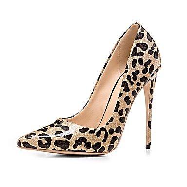 Or Cm Femme Rouge Basique À 12 Cuir Desy Gold Automne Chaussures Vrai Hiver Escarpin Décontracté Talons 10 PZxgw