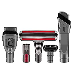 ARyee Replacement Attachments Tools Kit for Dyson V6 V7 V8 V10 DC24 DC33 DC35 DC39 DC44 DC58 DC59 DC62 DC74, Dyson Cordless Vacuum AccessoriesCompatible with Dyson Vacuum Cleaners:DC16,DC24 Animal, DC24 Multi Floor, DC34, DC34 Refurbished, DC35, DC35...