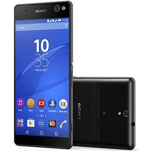 (Sony Xperia C5 Ultra Dual E5563 16GB Dual SIM Unlocked GSM Smartphone - International Version, No Warranty (Black))