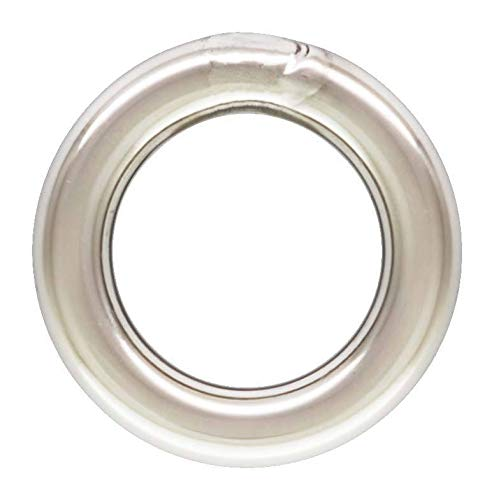100pc, Sterling Silver 4mm Closed Jump Rings. 20 Gauge. Closed Soldered ()
