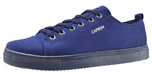 Hommes Loisir Chaussures Lo Caprium Sport Espadrilles Top Bleu Tissu Fonc Sneaker De En wqgIHTF