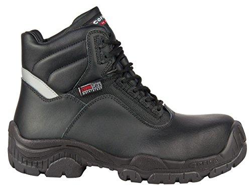 Cofra 31150–000.w47Swansea S3WR SRC–zapatos de seguridad talla 47NEGRO