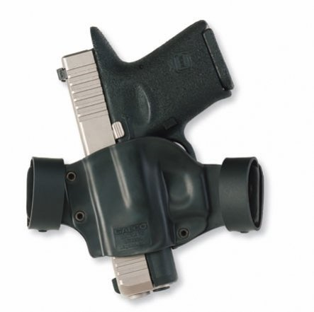 Galco M7X Matrix for Glock 17, 22, 31, 19, 23, 32, 26.27, 33, 36 (Black, Right-Hand)