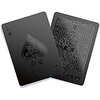 Black Playing Cards - Day of the Dead Edition by Gent Supply Co