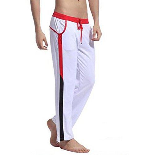 Uomo Pigiama Casa Xl Pantalone Puro Pantaloni Nero Da Hombre Abbigliamento Pantalon Mens 0X8PkwOn