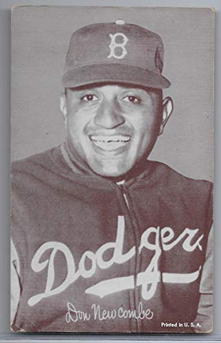 1947-66 Exhibit Supply Company Don Newcombe Brooklyn Cap Card Version ()