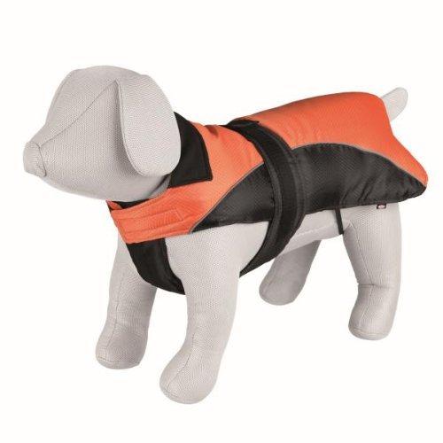Trixie Nizza Winter Dod Coat. Size:Xl Stomach Circum:65-90 Cm Length:70Cm Colour:Orange/Black