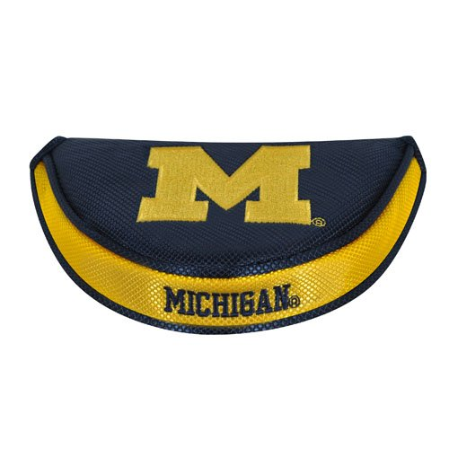 Michigan Wolverines Mallet Putter Cover (University Cover Putter Golf)