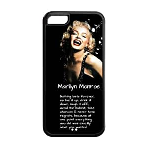 Best Zombie Marilyn Monroe TPU cases Cover for Apple iPhone 5c