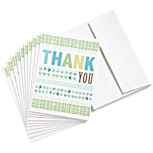 Best Epic Trends 41ywlRtHsdL._SS300_ Amazon.com $15 Gift Cards, Pack of 10 with Greeting Cards (Thank You Design)