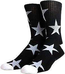 Best Price Men Ribbed Single Pair Street Crew Sock
