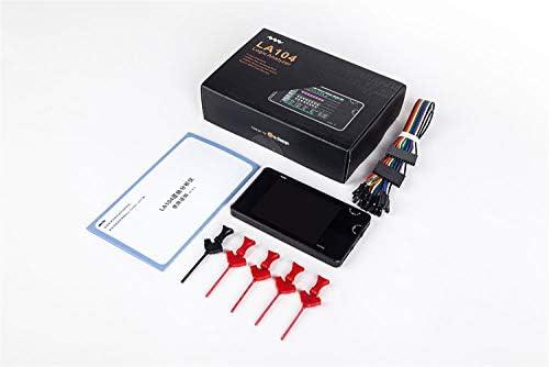"""Zhaolan-Meter Industriewerkzeugset 4-Kanal Logikanalysator 2,8""""Farb-TFT-Bildschirm SPI I2C UART Programmierbare maximale Abtastrate von 100 Msa/s Mini-Werkzeuge"""