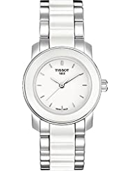 Tissot Womens T0642102201100 Cera Silver-Tone Ceramic Watch