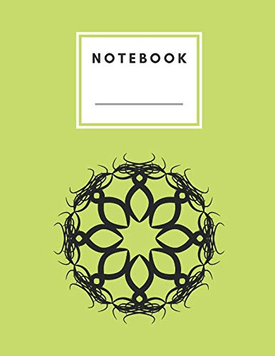 Notebook: Tribal Circle Symbol Notebook Lined and Numbered 120 Pages Witch Lines Letter Size 8.5 x 11 - A4 Size (Journal, Notes, Notebook, Diary, Composition Book) Soft Cover (Perfect A Symbol Circle)