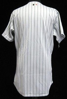2000 Pittsburgh Pirates Blank Back Game Issued Gray Pinstripe Jersey PITT1669 – Game Used MLB Jerseys