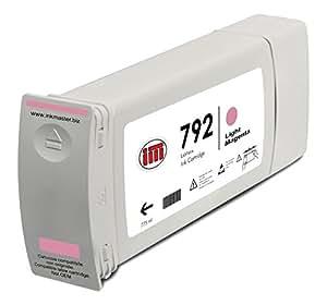 Ink Master - Cartucho compatible HP 792 CN710A LIGHT MAGENTA para HP L26500 L28500