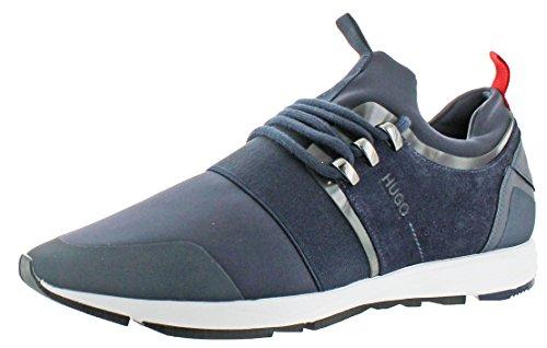 Hugo By Hugo Boss Runn Mens Running Sneakers Shoes Blu Scuro