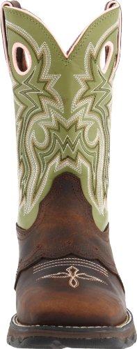 Women's Durango Square Toe Western Boots BROWN 9.5 M by Durango (Image #4)