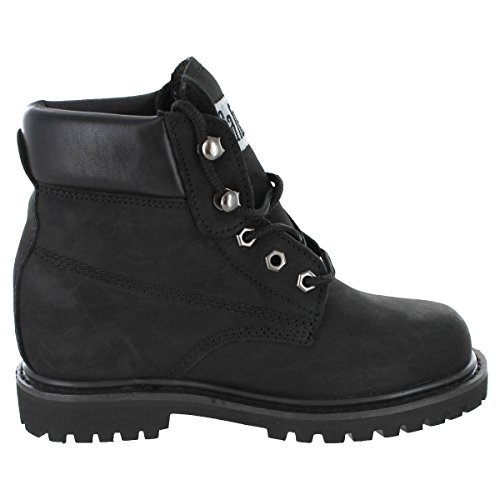 Safety Girl II Steel Toe Work Boots - Black by Safety Girl (Image #5)