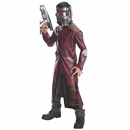 Rubie's Guardians of The Galaxy Deluxe Star-Lord Costume, Child Small]()