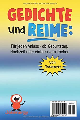 Amazoncom Gedichte Und Reime Für Jeden Anlass Ob