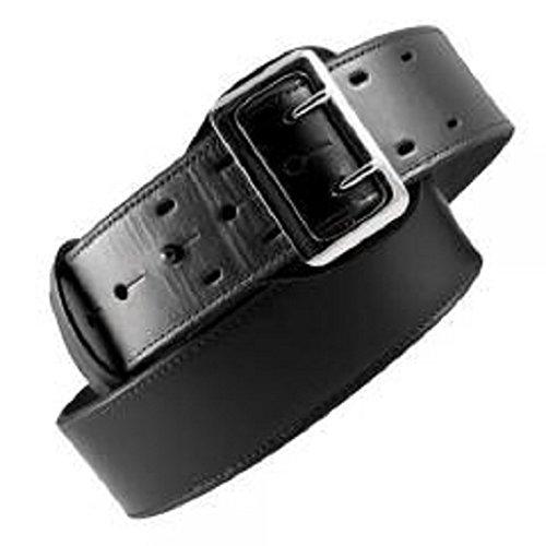 (Boston Leather 6501-2-40 Black Hi-Gloss Lined 2.25