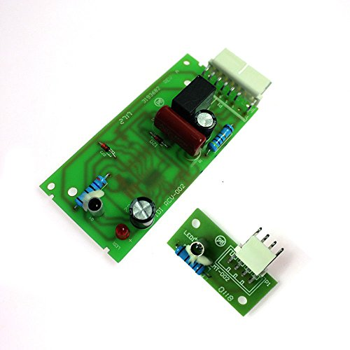 Simply Silver - Emitter Control Board - 1x Refrigerator Ice Level Emitter Control Board for Whirlpool 4389102 W10193666 (Kenmore Refrigerator Ice Maker On Off Switch)