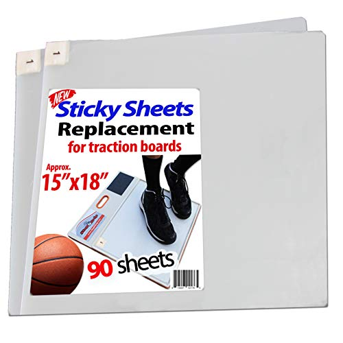 /Pad Replacement Sheets, Fits All Traction Board, Approximate Size 15